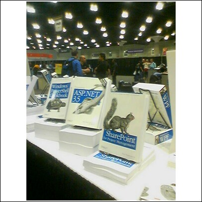 Dux_book_at_pdc