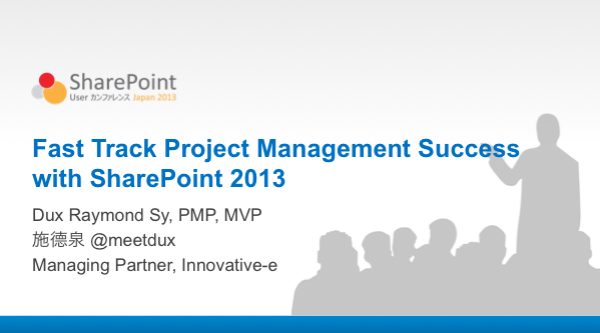 Photo: Finalizing my #sharepoint for #pm presentation for @spucjapan